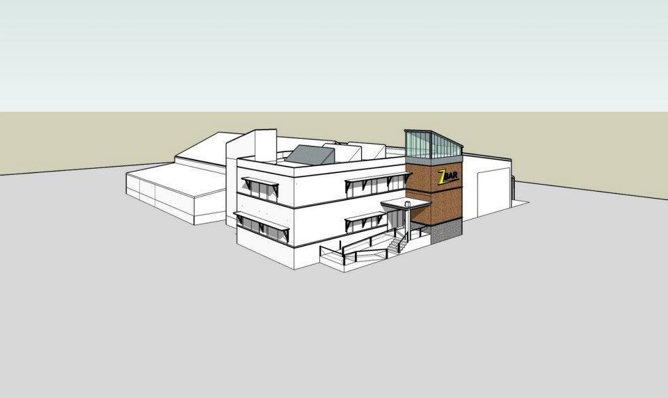 Z Bar Commercial Building Design