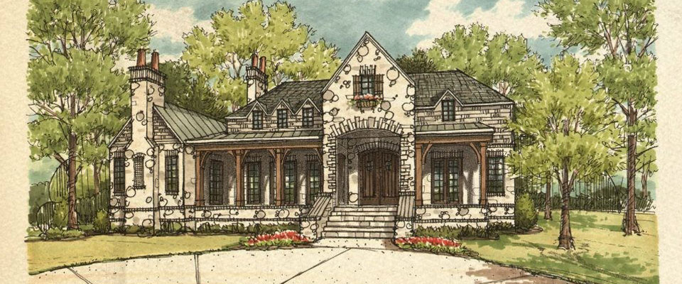Southern draw design build knoxville architects custom for Mid century post and beam house plans